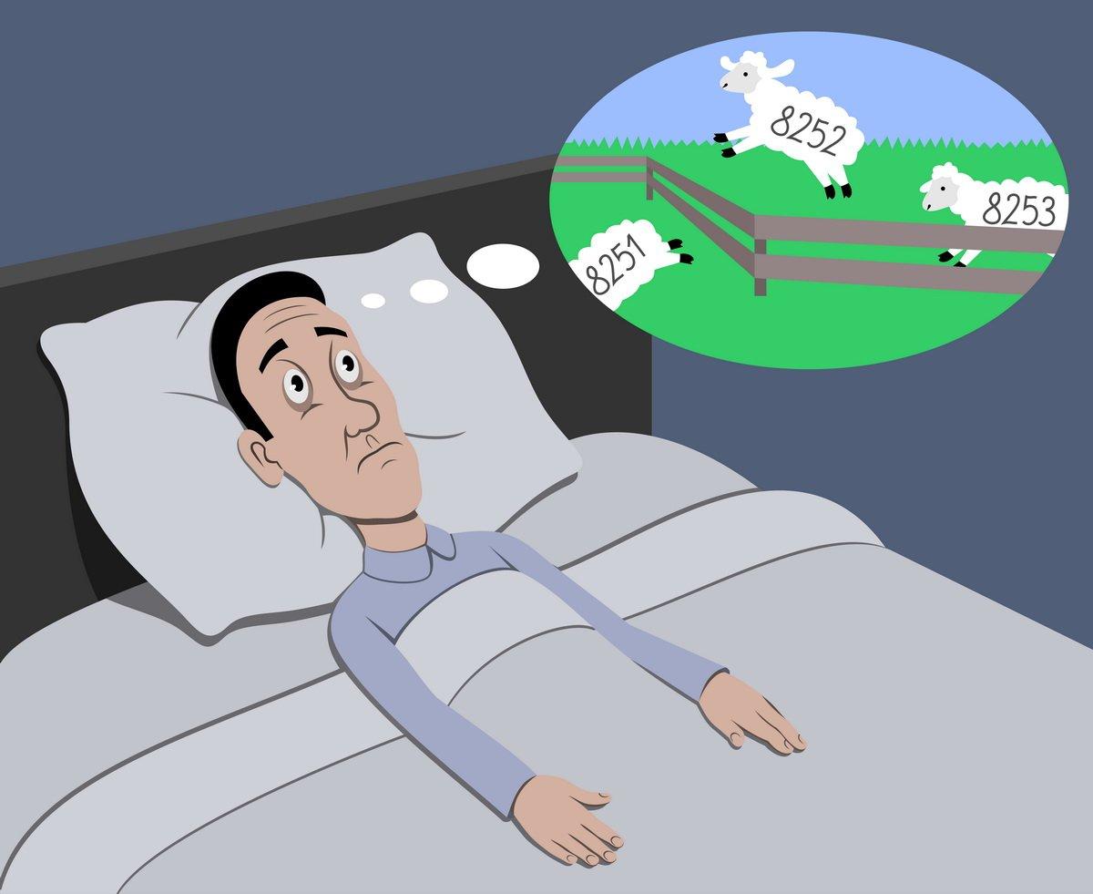 อาการนอนไม่ค่อยหลับ