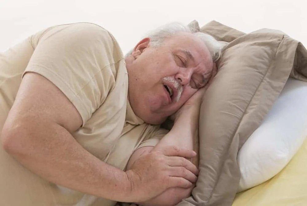 การนอนกรนในผู้สูงวัย